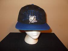 VTG-1990s Tampa Bay Lightning The Game NHL green under brim snapback hat sku10