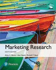 Marketing Research by Ronald F. Bush, Alvin C. Burns (Paperback, 2016)