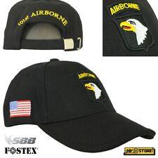 CAPPELLO BERRETTO AIRBORNE 101st **ORIGINALE 100%** US ARMY MILITARE SOFTAIR BK