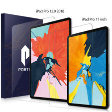 For iPad Pro 12.9 / Pro 11 Screen Protector Poetic Ultra Thin Tempered Glass