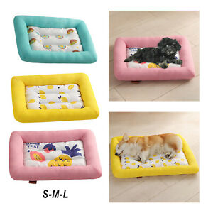 Summer Waterproof Cooling Pet Dog Bed Mats for Dogs Cats Sofa Accessories
