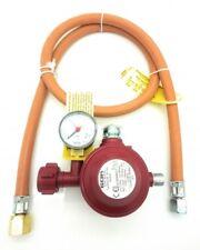 Adapter für USA BBQ Gasgrills -Schlauch und 30 mbar 2 Stufen Sicherheits Regler