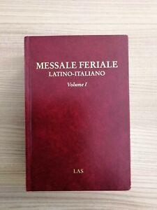 Messale Feriale Latino-Italiano - Vol. 1