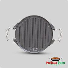 25cm Cast Iron Griddle Plate / Skillet / BBQ