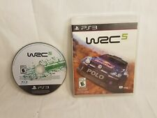 Sony PlayStation 3 PS3 WRC 5 Game Complete CIB w/Box World Rally Championship