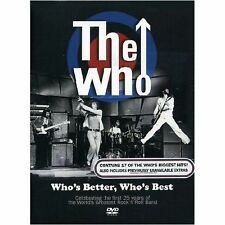 THE WHO Who's Better, Who's Best DVD BRAND NEW NTSC Region 2 3 4 5 6