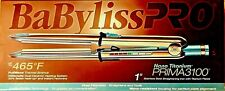 "BaByliss PRO Nano Titanium PRIMA 3100 1"" Stainless  Straightening/Curling Iron"