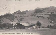 AK Ste-Croix-la Caîne TU Chasseron, vue TU Mont cerfs 1909