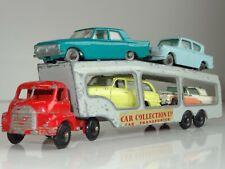 MATCHBOX LESNEY AC2 BEDFORD CAR TRANSPORTER & 4 voitures Ensemble Cadeau