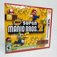 Nintendo 3DS New Super Mario Bros 2 2012 - Brand New Factory Sealed RED CASE