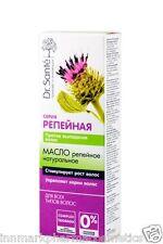 8396 Bardana olio naturale contro la perdita di capelli ingredienti a base di erbe 100 ml Dr. Sante