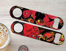 Wink Devil Girl Personalized Hell Bartender Bar Blade Custom Speed Bottle Opener