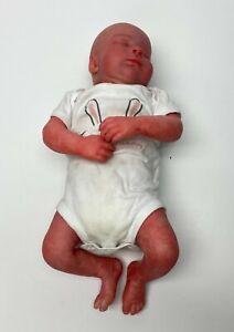 Hyper realistic Realborn Sleeping  Baby Boy Preemie Reborn Baby Doll #68A