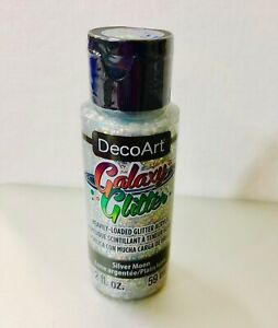 DecoArt GALAXY GLITTER (NEW)  - SILVER MOON 59ml