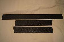 "3 PIECE JEEP YJ WRANGLER 1987-1995 BLACK DIAMOND PLATE 3 1/2 "" CORNER GUARDS !!!"