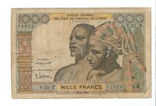 French West Africa - TOGO - 1000 Francs 1961
