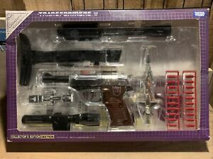 TRANSFORMERS G1 Reissue Megatron Gun Collector's Edition DESTRON Complete AIB