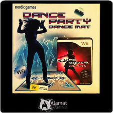 Dance Party With Dance Mat (Wii) NIntendo - Very Good - No Box