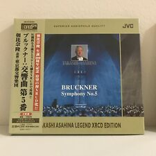 Bruckner Symphony No. 5 - Asahina - XRCD XRCD24 CD SEALED Japan