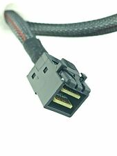 Amphenol Mini SAS SFF-8643 to SFF-8643 Mini SAS HD Data Cable 23 Inch