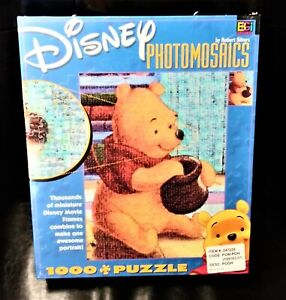 Disney Winnie the Pooh New Sealed 1000 Puzzle Robert Silvers Think
