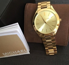 Michael Kors Slim Runway Gold-tone Ladies Watch 42mm