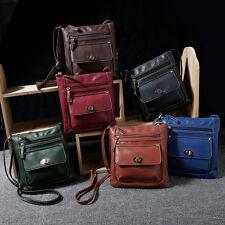 Womens Men Leather Shoulder Messenger Bag Business Satchel Crossbody Handbag Hot
