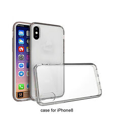 Case for iPhone 8 Transparent Crystal Clear Soft TPU Anti Scratch Cover