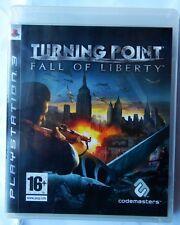 TURNING POINT FALL OF LIBERTY PS3  PLAYSTATION 3 PAL ITALIANO NUOVO SIGILLATO