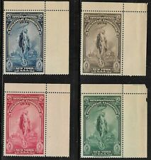 1936 International Philatelic Exhibition Full Corner margin copies MNH, Full Set