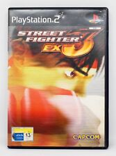 STREET FIGHTER EX 3 - PLAYSTATION 2 PS2 PLAY STATION 2 - PAL ESPAÑA - EX3 PLUS