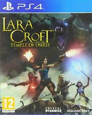 Playstation 4 PS4 Game LARA CROFT AND THE TEMPLE OF OSIRIS Boxed and Complete