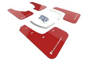 Rally Armor Red Mud Flap w/ White Logo FITS 18-19 Subaru Ascent UR MF49-UR-RD/WH