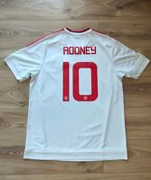 """Authentic Original 2015-16 MANCHESTER UNITED Rooney """"FA CUP"""" Football shirt - XL"""