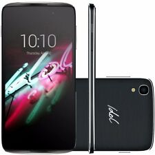 BRAND NEW ALCATEL ONE TOUCH IDOL 3 DARK GREY UNLOCK 4G LTE UNLOCK SMART PHONE