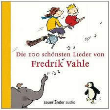 FREDRIK VAHLE - DIE 100 SCHÖNSTEN LIEDER VON FREDRIK VAHLE 4 CD NEU