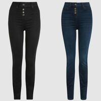 Ladies Next Super High Waist Skinny Jeans Sizes 6 - 26