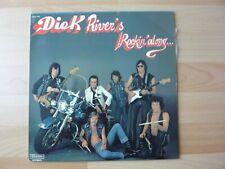 DICK RIVERS ROCKIN'ALONG   ALBUM 33T DISQUE VINYL