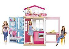Mattel Barbie Playset 2 BUNK HOUSE with BARBIE dvv48 NEW OVP