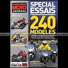 MOTO JOURNAL HS 2107 HORS-SERIE ★ SPECIAL ESSAIS ★ 240 Modèles - Edition 2001