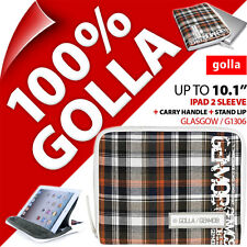 New Golla Tablet for iPad 2, 3, 4 Sleeve Bag Padded Carry Case Fits Up To 10.1""