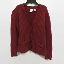 Field Gear Cardigan Sweater 100% Shetland Wool Button Front Size Medium