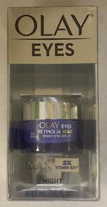 Olay Eyes Retinol 24 Max Night Eye Cream 2x Vitamin B3. #A5