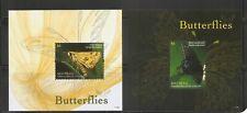 Grenadines Of St Vincent / 2011 Mayreau Butterflies , Souvenir sheets . MNH