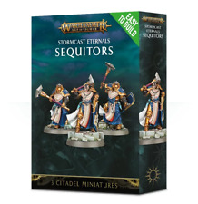 Warhammer Age of Sigmar Sequitors x3 Stormcast Eternals MORTAL REALMS (UNBOXED)