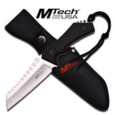 """M-Tech 20-50SL Stainless Reverse Tanto Blade 10"""" Fixed Satin Blade Knife"""