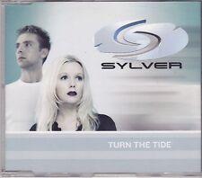 Sylver-Turn The Tide  cd maxi single eurodance Belgium 5 tracks