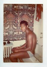 # 11 OLD PHOTO IN THE LIFE AFRICAN AMERICAN NUDE BLACK MEN OF COLOR SNAPSHOT GAY