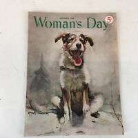 Vintage December 1948 Woman's Day Magazine Food, Fashion, DIY, Articles, & Ads