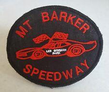 MT BARKER SPEEDWAY Sew On Patch - 10.3cm x 8.8cm .
